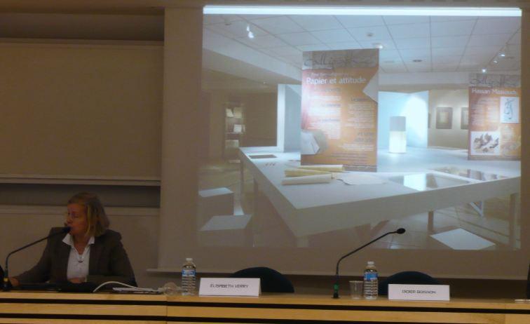Exposition Calligraphie aux archives départementales de Maine-et-Loire